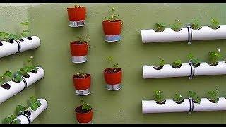 Zapętlaj Balkon Duvarını  Bahçeye Dönüştürdük (Sistem Kurulumu) | Hobi Market