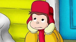Georges le Petit Singe 🐵Jour De Neige 🐵Saison 1  🐵Dessin Animé 🐵Animation Pour Enfants