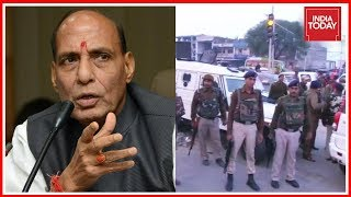 Sunjuwan Live Updates | Home Minister Rajnath Singh Enquires Situation From J&K DGP