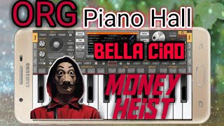 Money Heist- Bella Ciao Mobile Piano  Org 2022   by Org Piano Hall screenshot 5