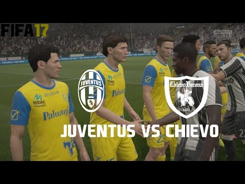 FIFA 17 (PS4 Pro) Juventus v Chievo SERIE A 09/09/2017 REPLAY SIM MATCH 1080P 60FPS