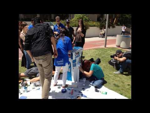 Green Fest - Compost Art Show on SDSU campus
