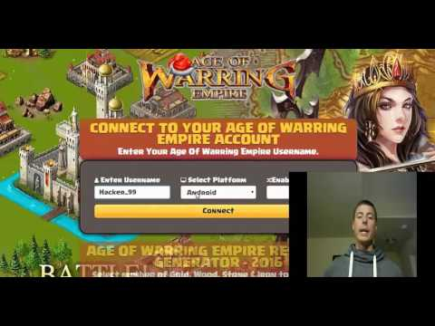 Age of Warring Empire Cheats - Hack your resources NOW!
