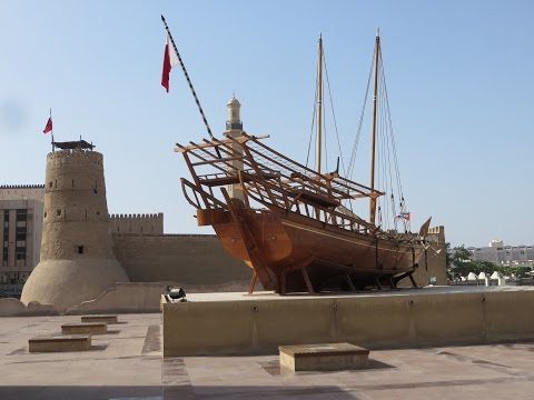 Inside AL fahidi fort and Dubai museum, Dubai, UAE