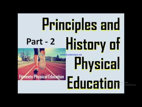 history of physical education 1947 – 1956 physical therapy education was impacted by the passage of the allied health professions training act in 1953 the baccalaureate degree was identified as the minimum degree for.