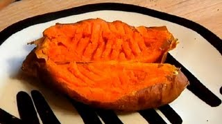 Microwave-Baked Sweet Potato Recipe : Delightful Sweet Potato Recipes