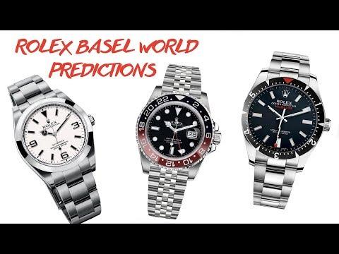 Rolex Basel World 2018 Predictions | RANT&H