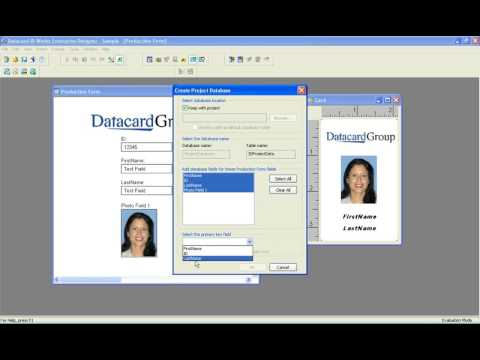 How to create a Database within ID Works