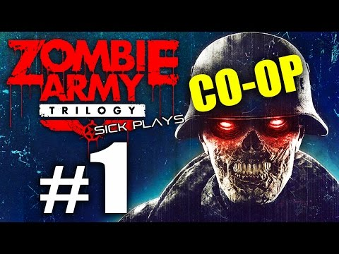 """Zombie Army Trilogy Co-Op #1 """"The Hilter"""" The Berlin Horror - Village of the Dead"""