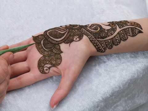 Bridal Mehndi Designs For Hands Dailymotion : Mehndi by riffat youtube