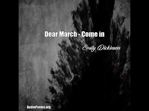 dear march come in