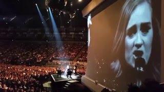 Adele comedy show O2 4/5/2016
