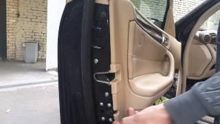 Универсальный  доводчик двери w203