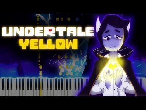 Undertale Yellow // Forlorn // Duet   LyricWulf Piano Tutorial on Synthesia
