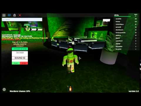 Roblox Twisted Murderer Rainbow Frog Code