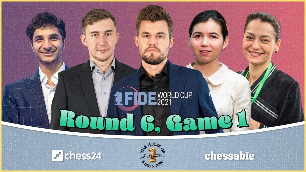 Download FIDE World Cup, Round 6.1   Anish Giri & Sopiko Guramishvili