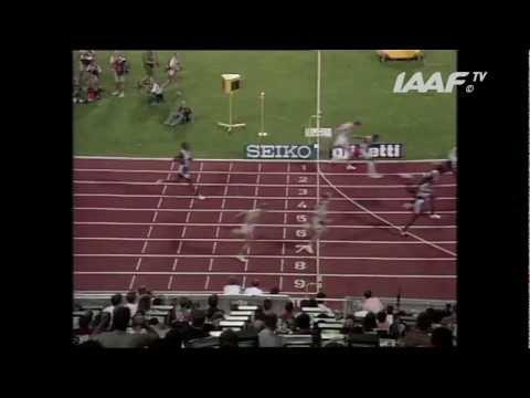 World Record - 110m Hurdles Men Final Stuttgart 1993