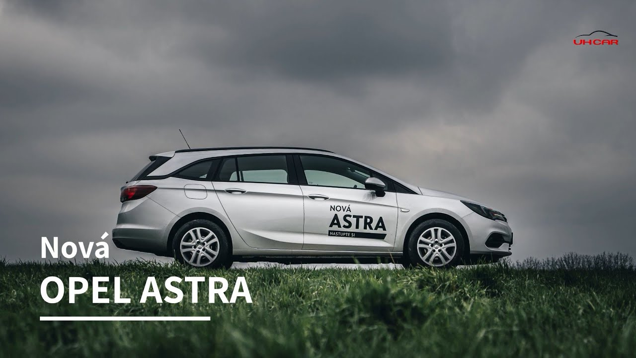 Opel Astra YouTube video