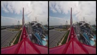VRin - Virtual Reality Roller Coaster #4 - 3D - SBS - google cardboard