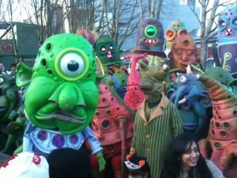 Aliens (Big Nazo) invade the Winter Olympics!