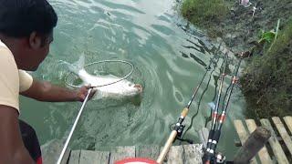 8 KG+ Catla Fishing Videos By Prince's