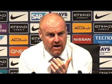 Manchester City 5-0 Burnley - Sean Dyche Full Post Match Press Conference - Premier League