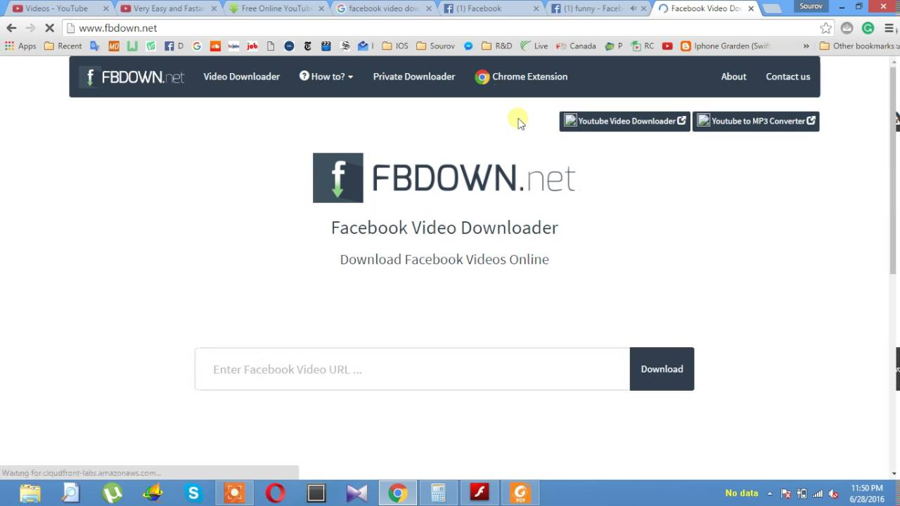 How To Download Facabook Video Very Easy And Faster Windows And Mac