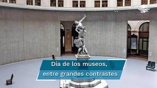El Consejo Internacional de Museos reporta que la mitad de los museos del mundo siguen cerrados; a la par, abren grandes recintos y otros reportan pérdidas