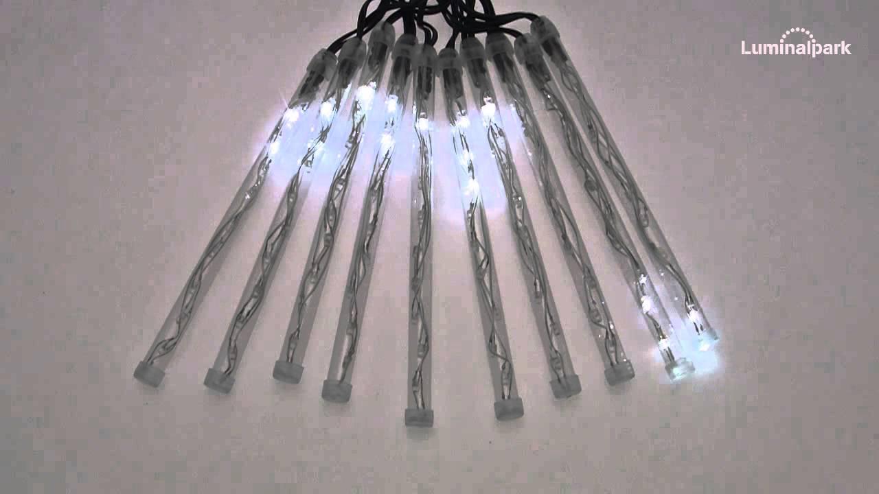 lichterkette 8 m 10 led leuchtst be kaltwei schneefall. Black Bedroom Furniture Sets. Home Design Ideas