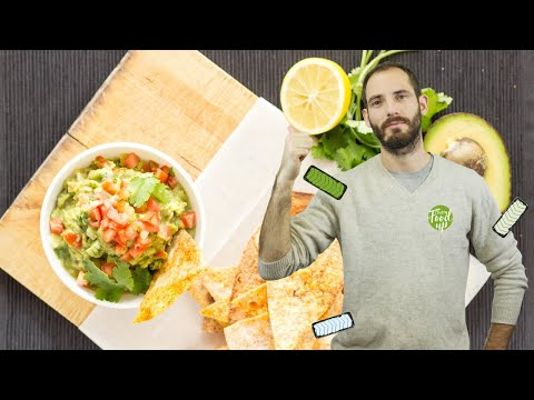Crispy Tortillas with Tangy Guacamole | Hurry The Food Up - YouTube