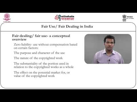 Fair use/Fair dealing in India