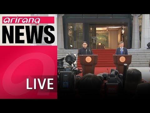 [LIVE/ARIRANG NEWS] President Moon speaks about North Korea ahead of Tokyo trip - 2018.05.08