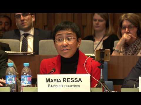 Panel 3 - Maria Ressa, Eexecutive editor and CEO, Rappler, Philippines