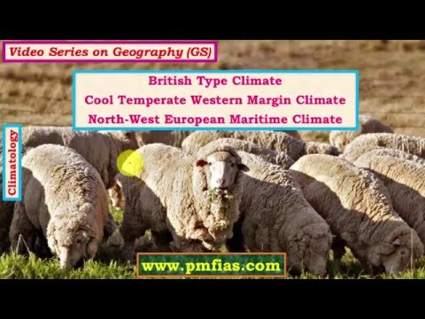 C30-British Type Climate | Cool Temperate Western Margin Climate
