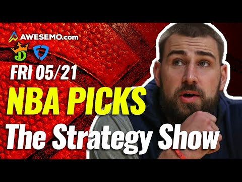 NBA DFS STRATEGY SHOW PICKS FOR DRAFTKINGS + FANDUEL DAILY FANTASY BASKETBALL   FRIDAY 5/21