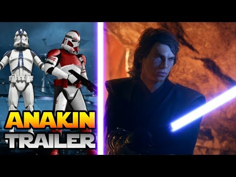 ANAKIN SKYWALKER First Look, New Clone Customization and more! - Star Wars Battlefront 2 thumbnail