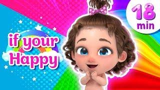 Happy Song + More Nursery Rhymes & Kids Songs - Binki Kids