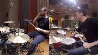 Indian Konnakol on Drumset By: Cain Daniel and Yogev Gabay
