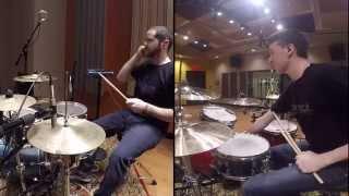 Indian Konnakol on Drumset By: Cain Daniel and Yogev Gabay