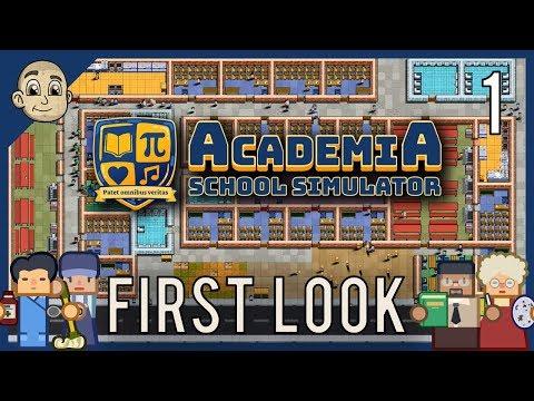 ACADEMIA: School Simulator - Build And Manage A School - Prison Architect School Simulator
