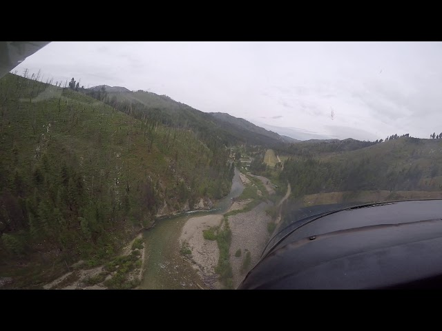Weatherby Second Airstrip Landing