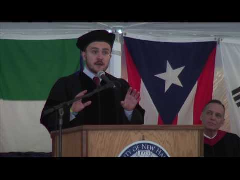 UNH Law Commencement 2017 - Ivan Ivanovych Chaika MIP'17
