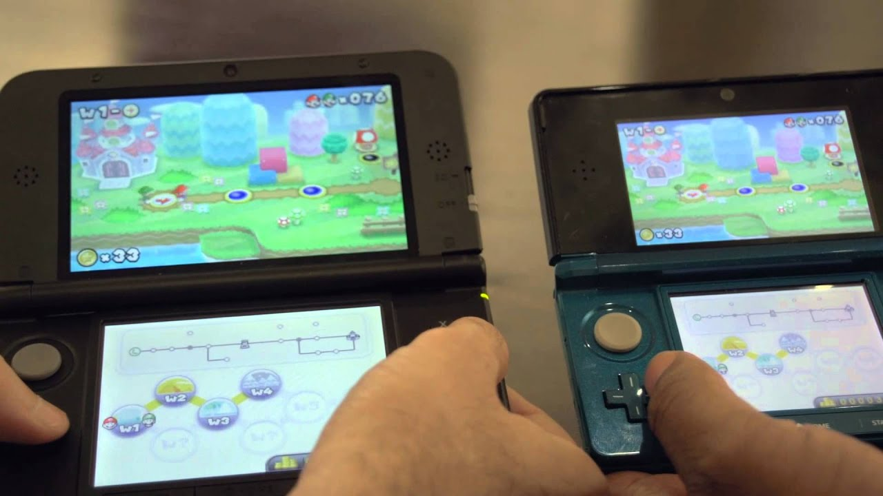 The 3ds Xl Vs The 3ds A Side By Side Comparison Youtube