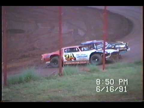 Rome Speedway 1991 Racing Action!