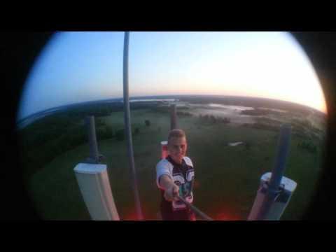 Tower climbing Latvia 100m Kapune
