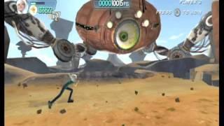 Monsters vs. Aliens Movie Game Walkthrough Part 19 (Wii)