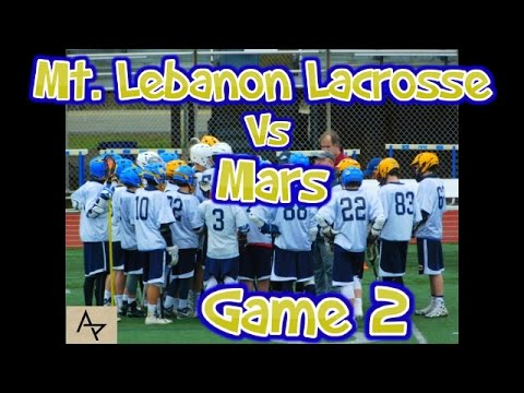 Mt. Lebanon Lacrosse Vs Mars 4-1-17 Game 2