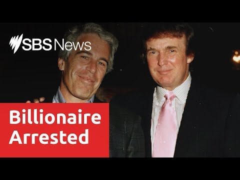Billionaire financier and convicted sex offender Jeffrey Epstein, charged with sex trafficking
