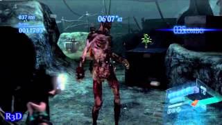 Resident Evil 6 The Mercenaries Ada Wong Match #7 - Double Ada Wongs {S-Ranking, The Catacombs Map}