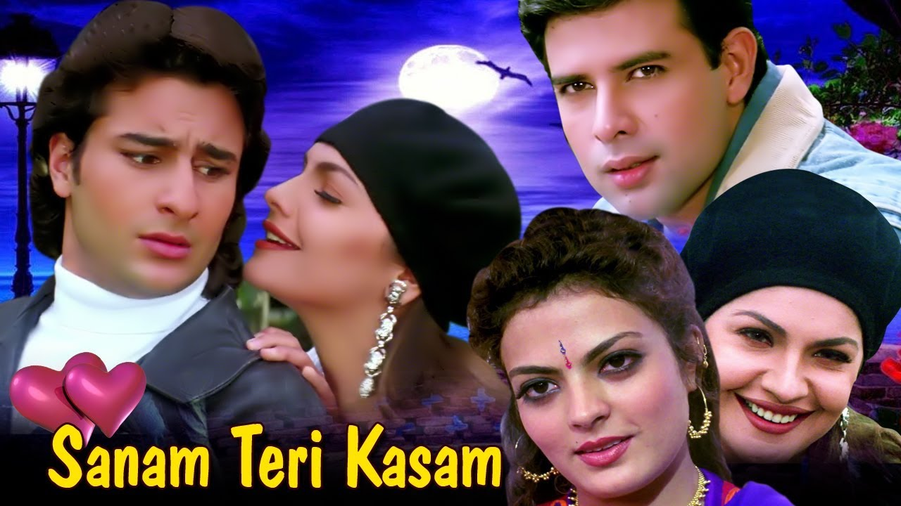 Sanam Teri Kasam Full Movie HD | Saif Ali Khan Hindi Romantic Movie | Pooja Bhatt | Bollywood Movie